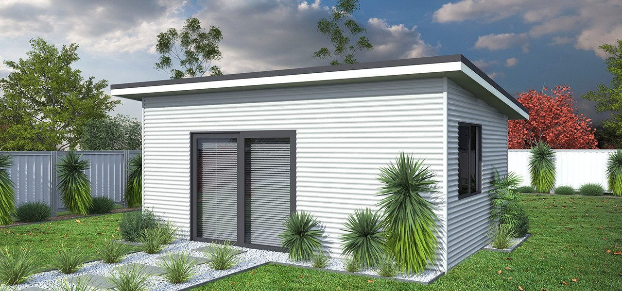 Studio granny flat cabin backyard shacks ranbuild for Backyard cabins granny flats